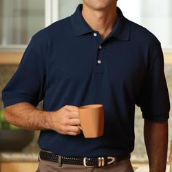 Mens Five-Star Performance Pima Pique Polo