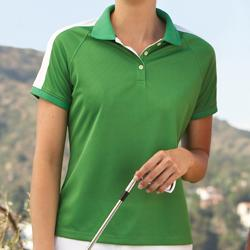 Ladies' Dri-Fast Mesh Polo