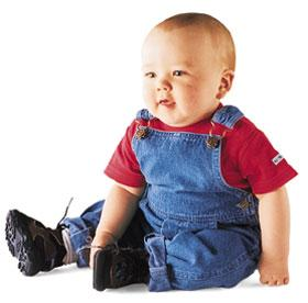 Infant Denim Overall