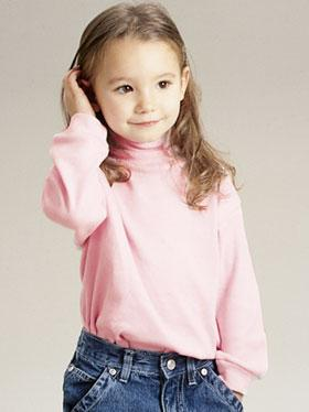 Toddler Interlock Turtleneck