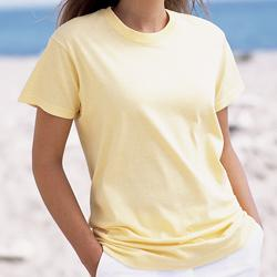 Womens Classic V-Neck Short Sleeve T-Shirt