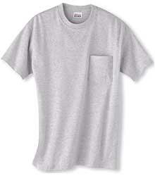 100% Cotton Beefy-T With Pocket