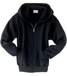 Comfortblend 50/50 Youth Sweatshirt w/ Zip-Front and Hood