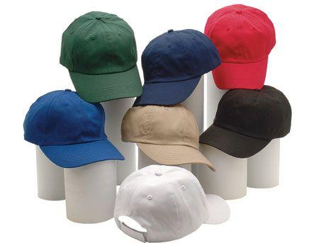 6-Panel Unstructered Twill Cap