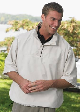 Quarter-Zip Wind Shirt