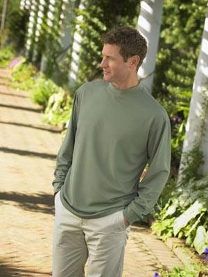 Long Sleeve Performance Mock Turtle