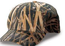 Structured Mid-Profile Mossy Oak Shadow Grass Camouflage Caps