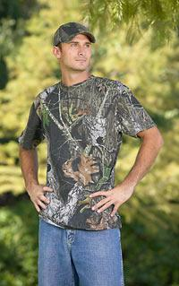 Short Sleeve Pocket Camouflage Tee