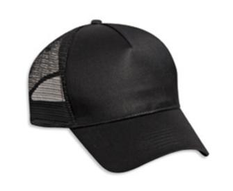 Cotton Twill Five Panel Low Profile Pro Style Mesh Back Caps