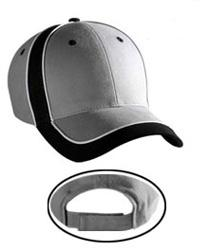 Piping Design Brushed Cotton Twill Low Profile Pro Style Caps