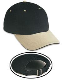 Garment Washed Sandwich Visor Low Profile Pro Style Caps