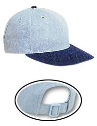 Brushed Denim Otto Polo Low Profile Pro Style Caps