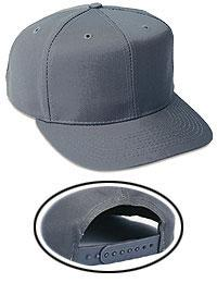 6 Panel Mid Profile Style Cotton Blend Twill Baseball Cap