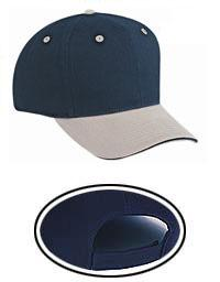 Brushed Cotton Twill Sandwich Visor Pro Style Caps