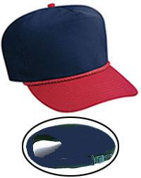 Poplin High Crown Golf Style Caps