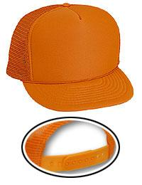 Neon Polyester Foam Golf Style Mesh Back Caps