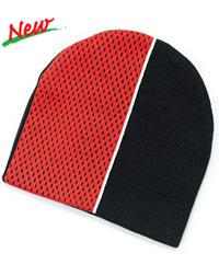 Two Tone Knit Beanie with Pro Mesh