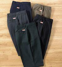 Ladies' Elastic Insert Industrial Pant