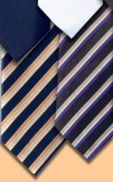Raise Pencil Stripe Tie