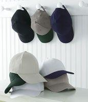 Brushed Structured Six-Panel Cap