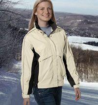 Ladies' Trident Microflex Rainshell Jacket