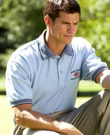 Men's Cool-N-Dry Mesh Polo