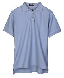 Ladies' Luxury Double Pique Polo