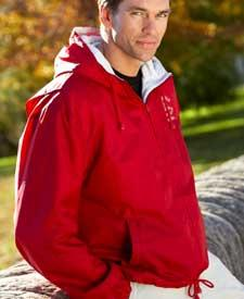 Adult Fleece-Lined Hooded Jacket