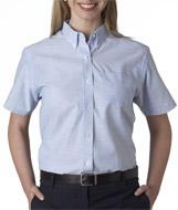 Ladies' Classic Short-Sleeve Oxford